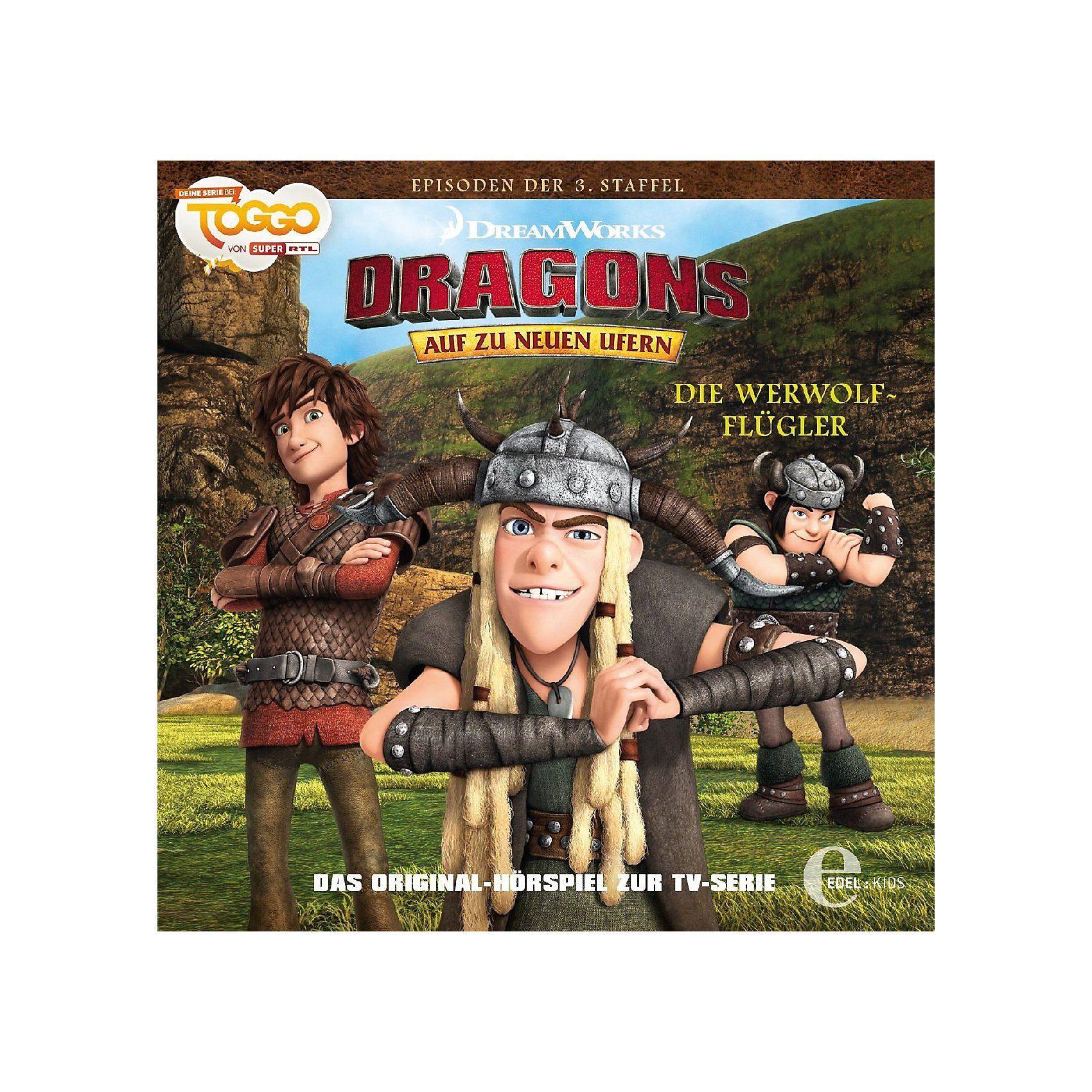 Edel CD Dragons neue Ufer 28 - Die Werwolf-Flügler