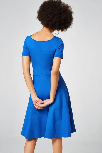 ESPRIT Jersey-Kleid mit schwingendem Rock