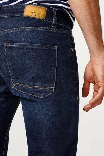 ESPRIT Stretch-Jeans mit leichter Waschung