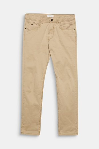 ESPRIT 5-Pocket-Hose aus Baumwoll-Stretch