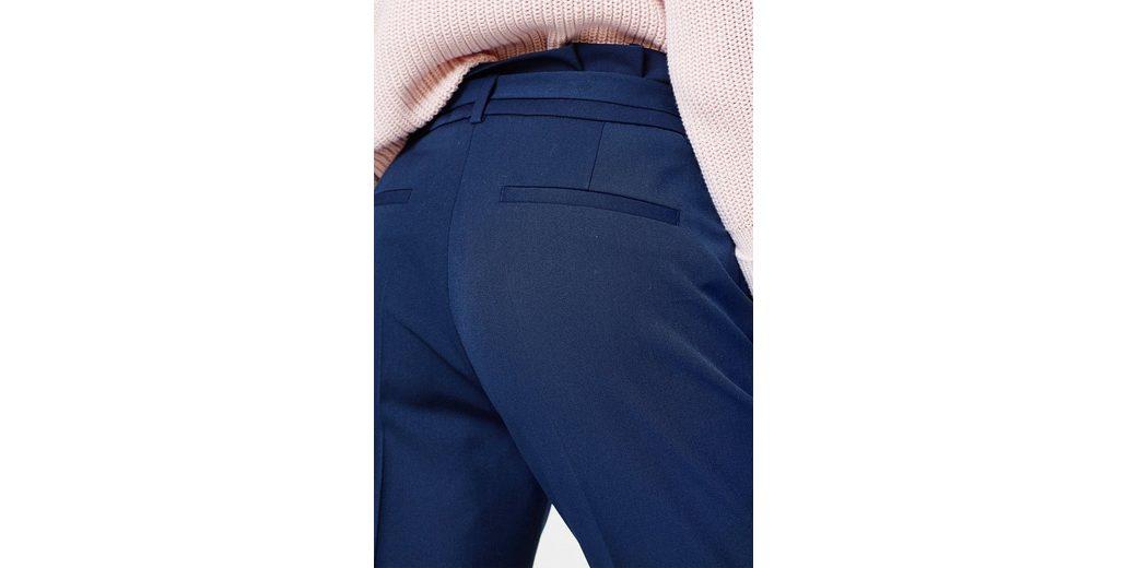 ESPRIT Stylische Stretch-Hose mit Paperbag-Bund Spielraum Online Amazon Freies Verschiffen Größte Lieferant YEc0t