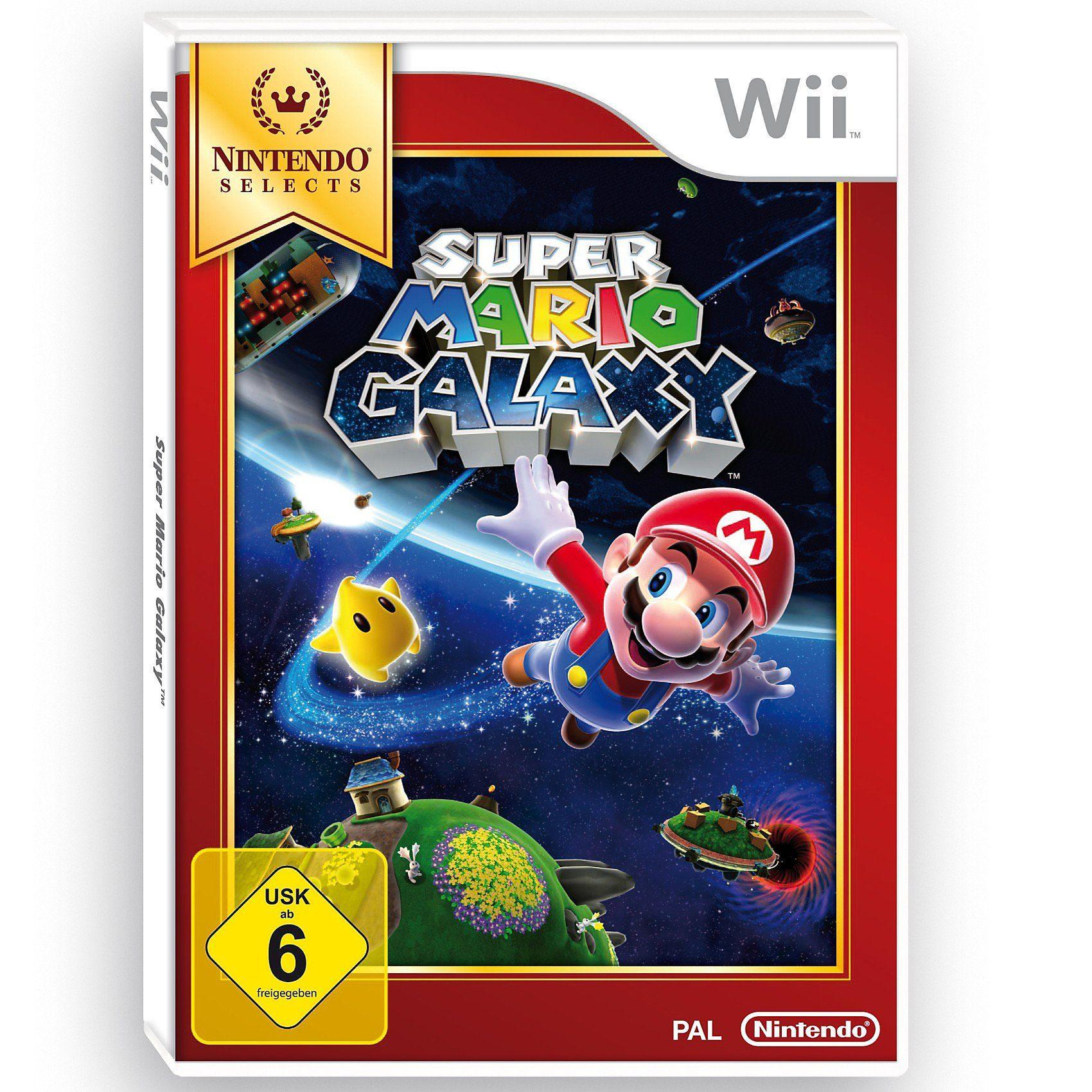 Nintendo Wii Super Mario Galaxy - Selects