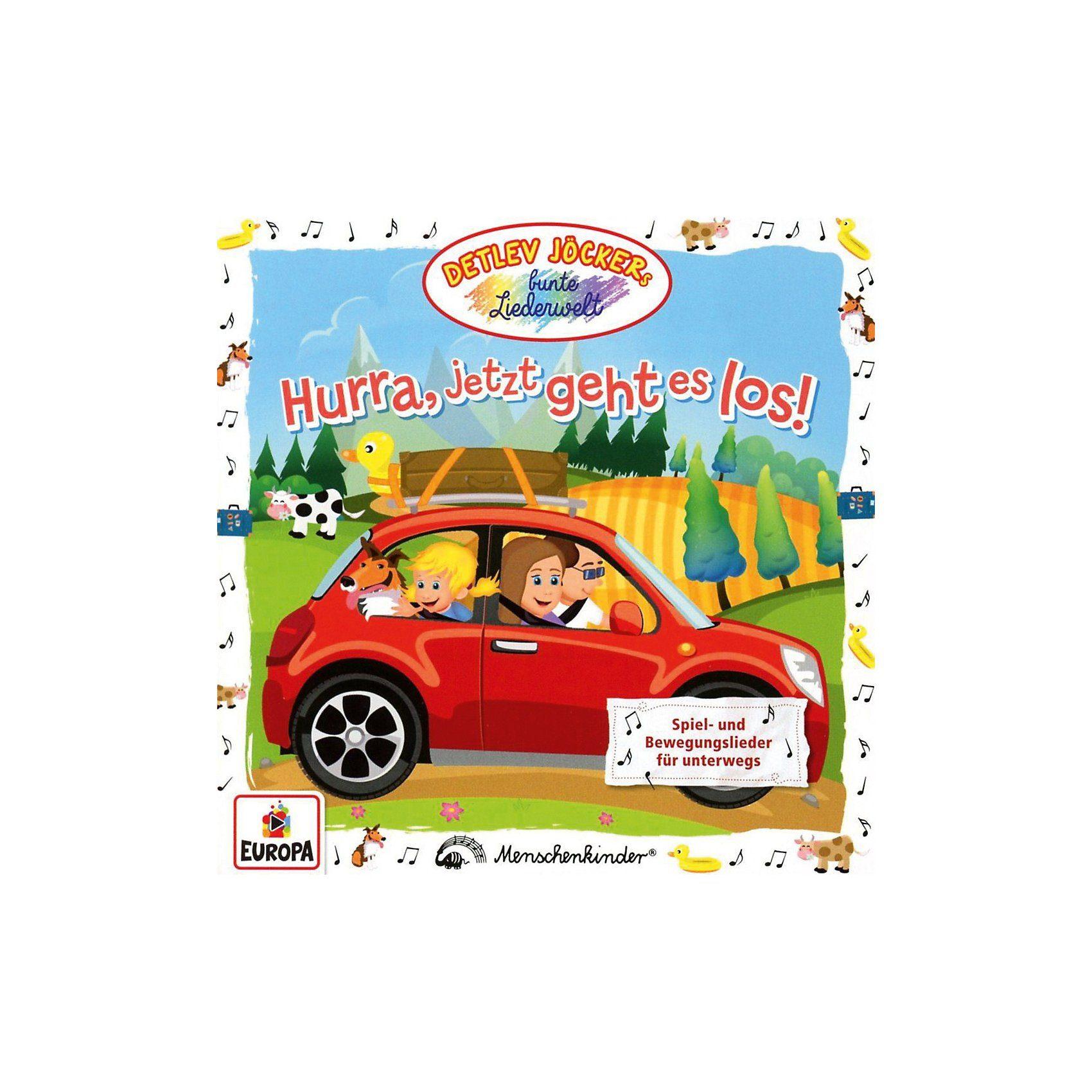 Sony CD Detlev Jöcker - Hurra jetzt geht es los
