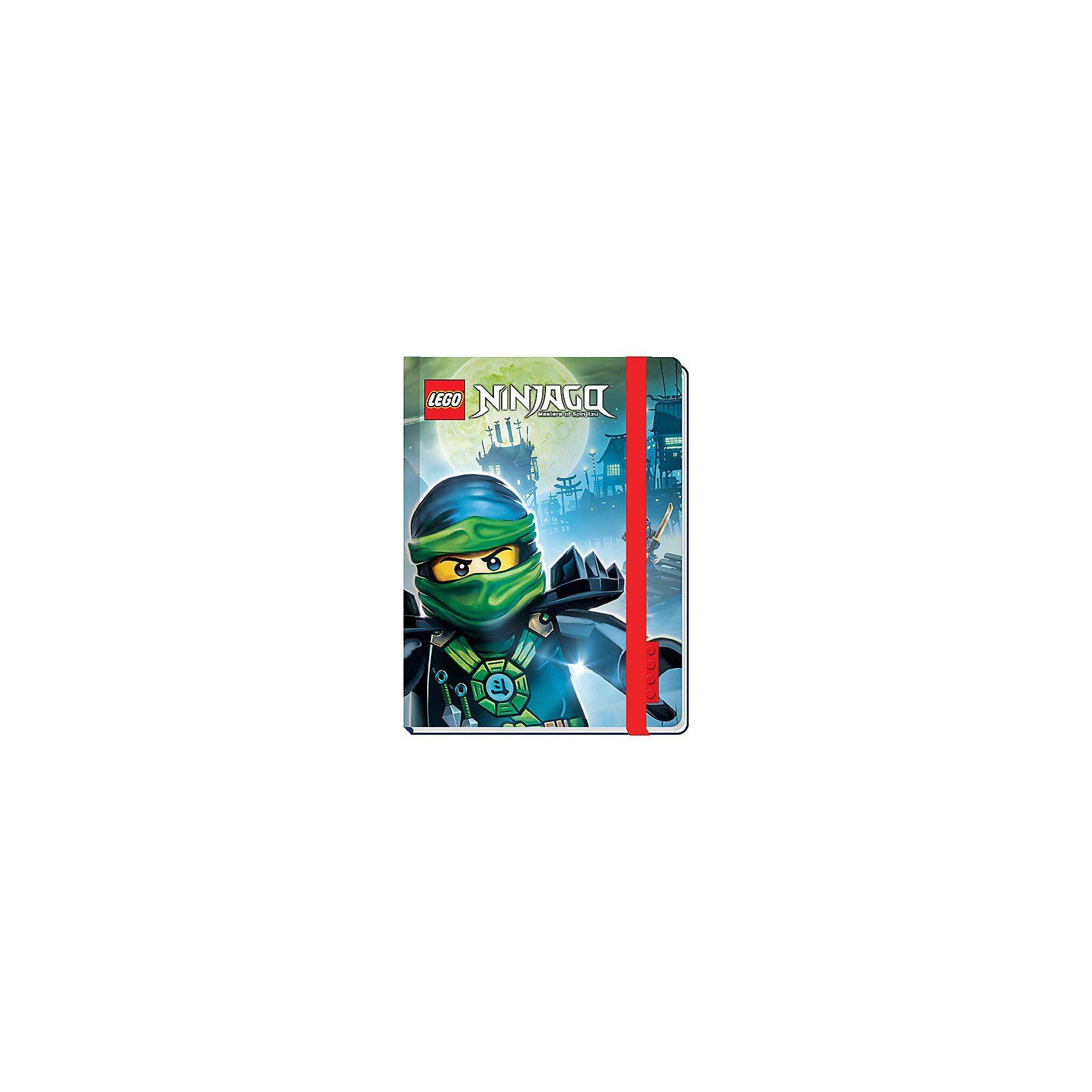 LEGO Ninjago Notizbuch mit Gummiband