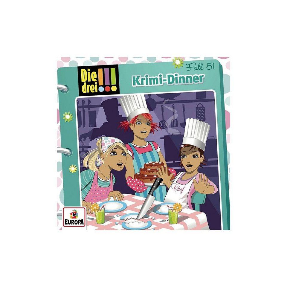 Sony CD Die drei !!! 51 - Krimi-Dinner kaufen