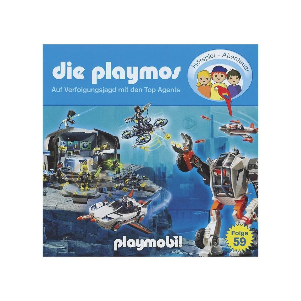 Edel CD Playmos 59 - Auf Verfolgungsjagd mit den Top Agents online kaufen