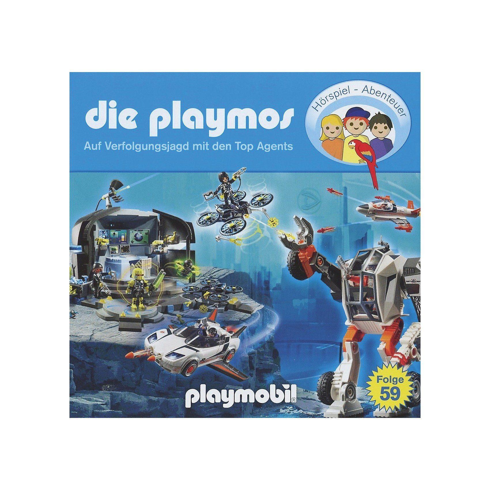CD Playmos 59 - Auf Verfolgungsjagd mit den Top Agents