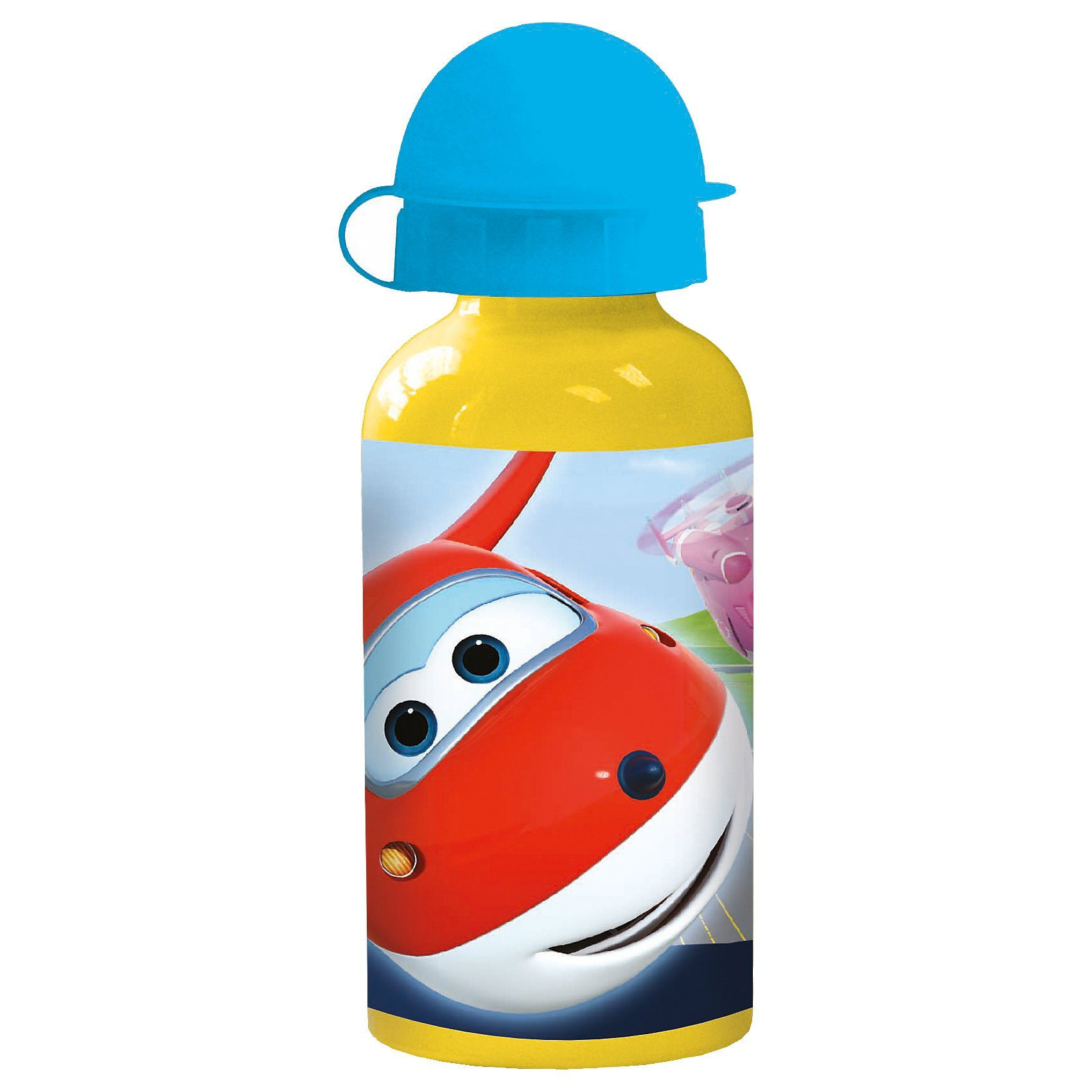 p:os Alu-Trinkflasche Superwings, 400 ml