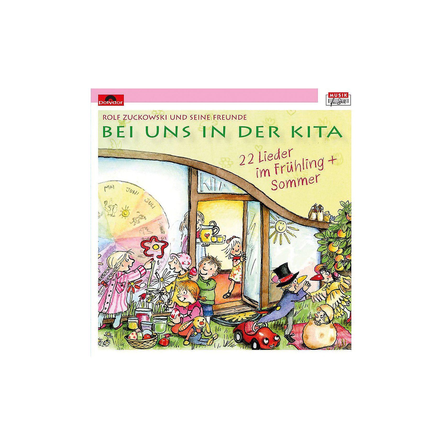 Universal CD Rolf Zuckowski - Bei uns in der Kita 22 Lieder im Frühlin