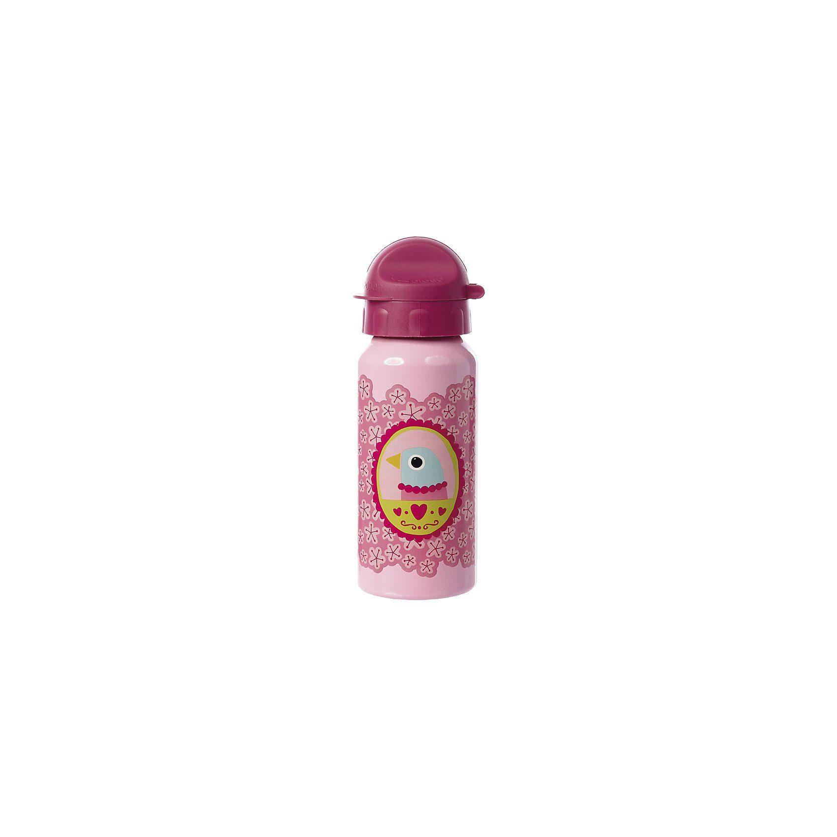 sigikid Alu-Trinkflasche Finky Pinky, 400 ml