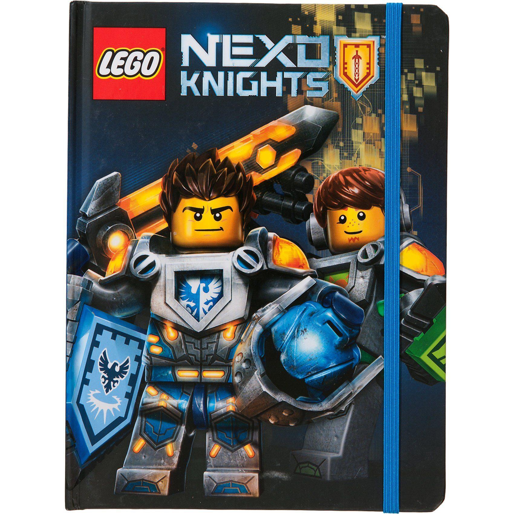 Lego® NEXO Knights Notizbuch mit Gummiband