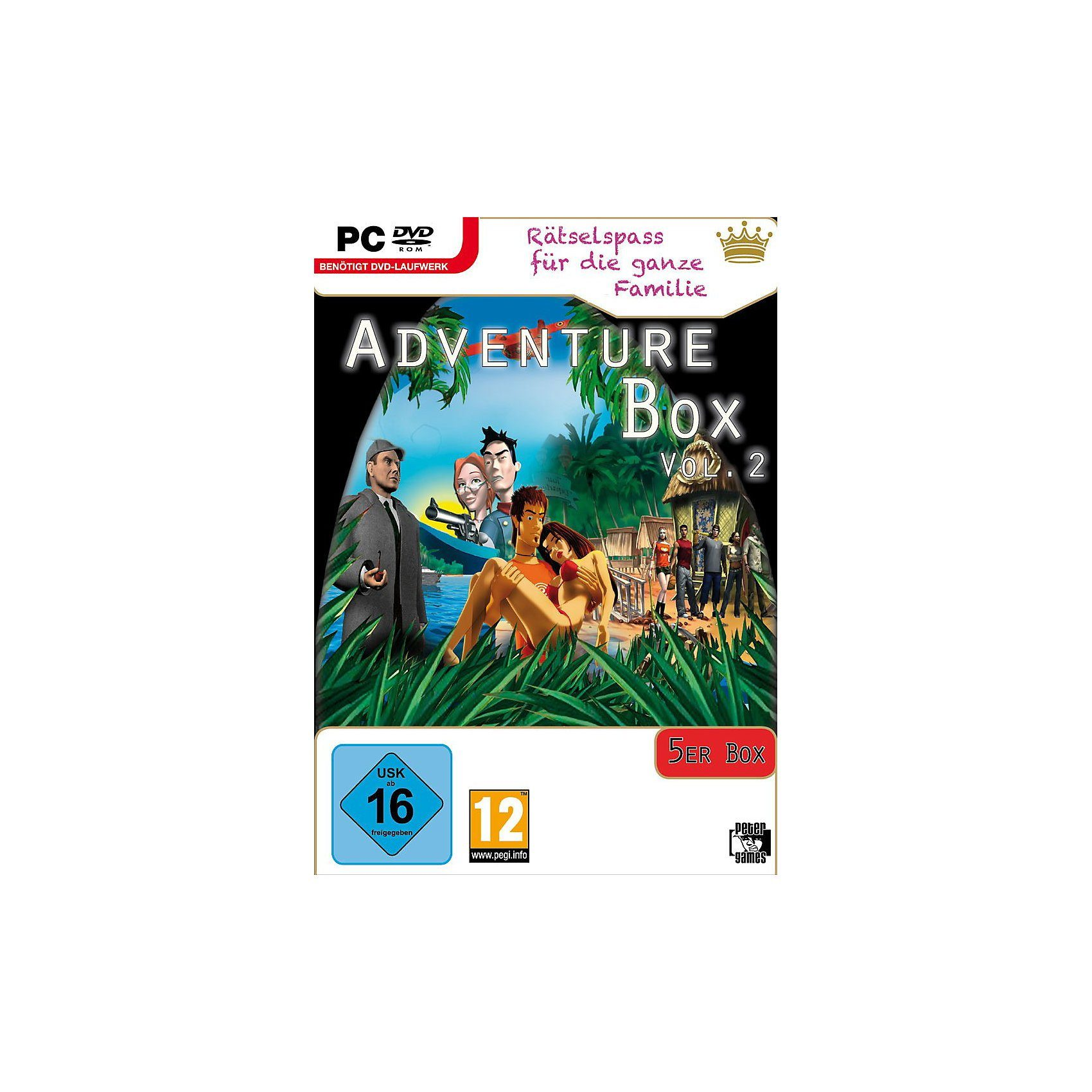PC Adventure Box Vol. 2 (5er)