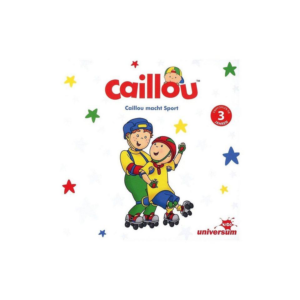 Universum CD Caillou macht Sport online kaufen