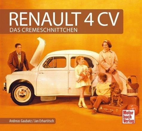 Gebundenes Buch »Renault 4 CV«