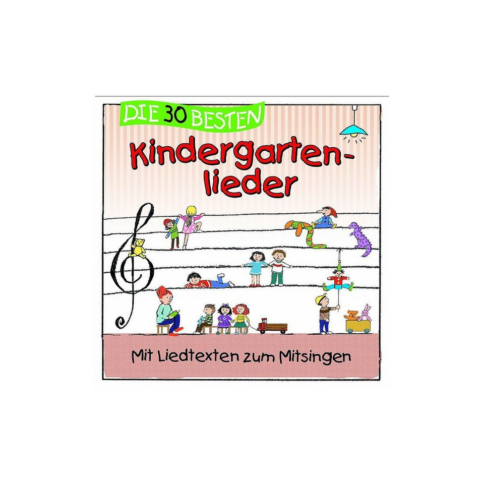 Universal CD Die 30 Besteen Kindergartenlieder