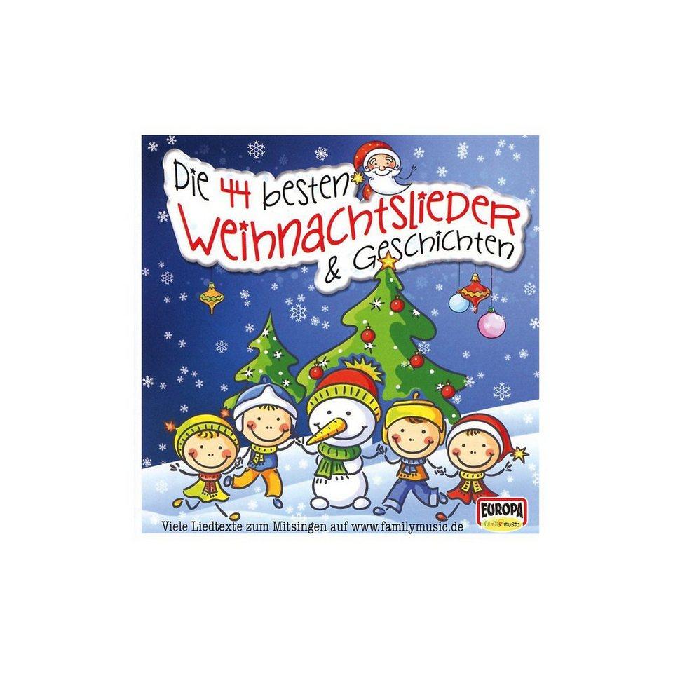 Sony CD Die 44 besten Weihnachtslieder & Geschichten online kaufen ...