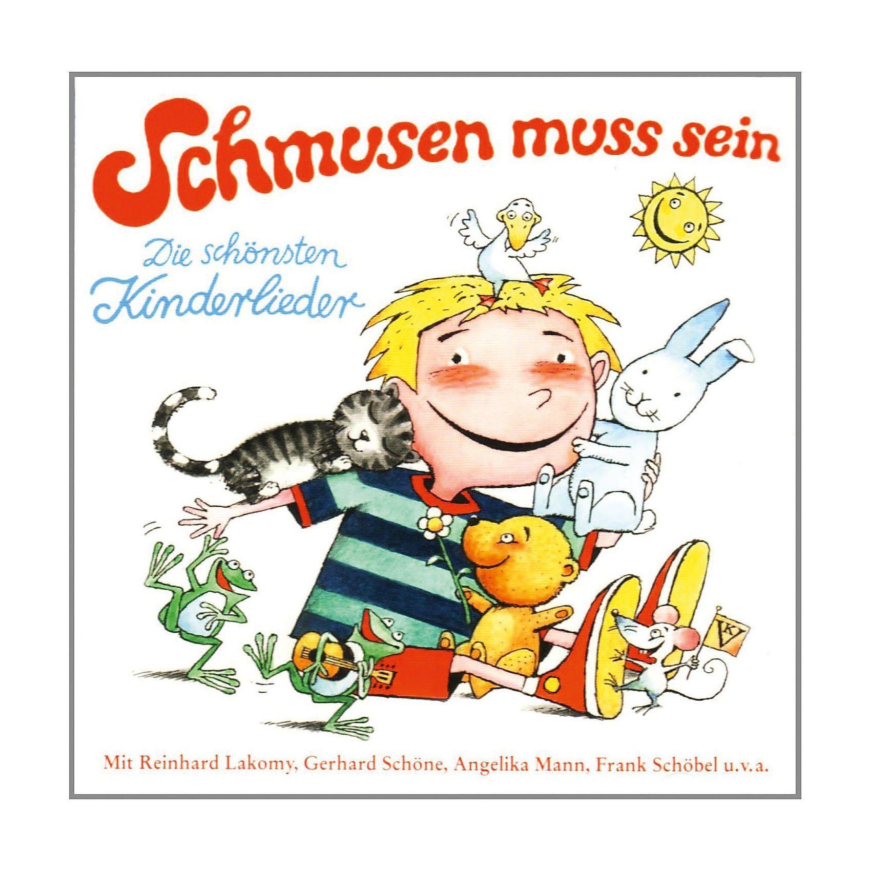 CD Schmusen muss sein - die schönsten Kinderlieder