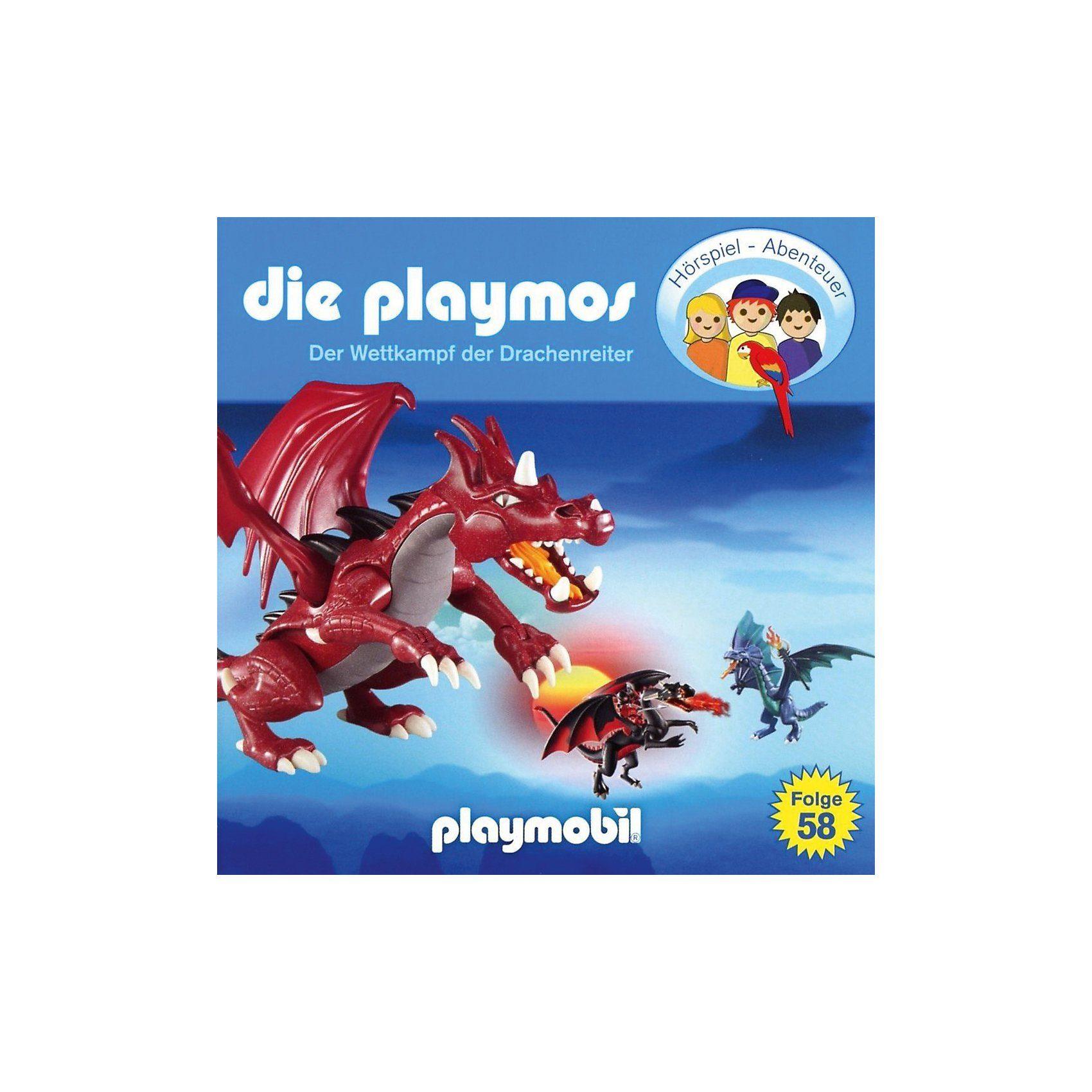 Edel CD Playmos 58 - Der Wettkampf der Drachenreiter