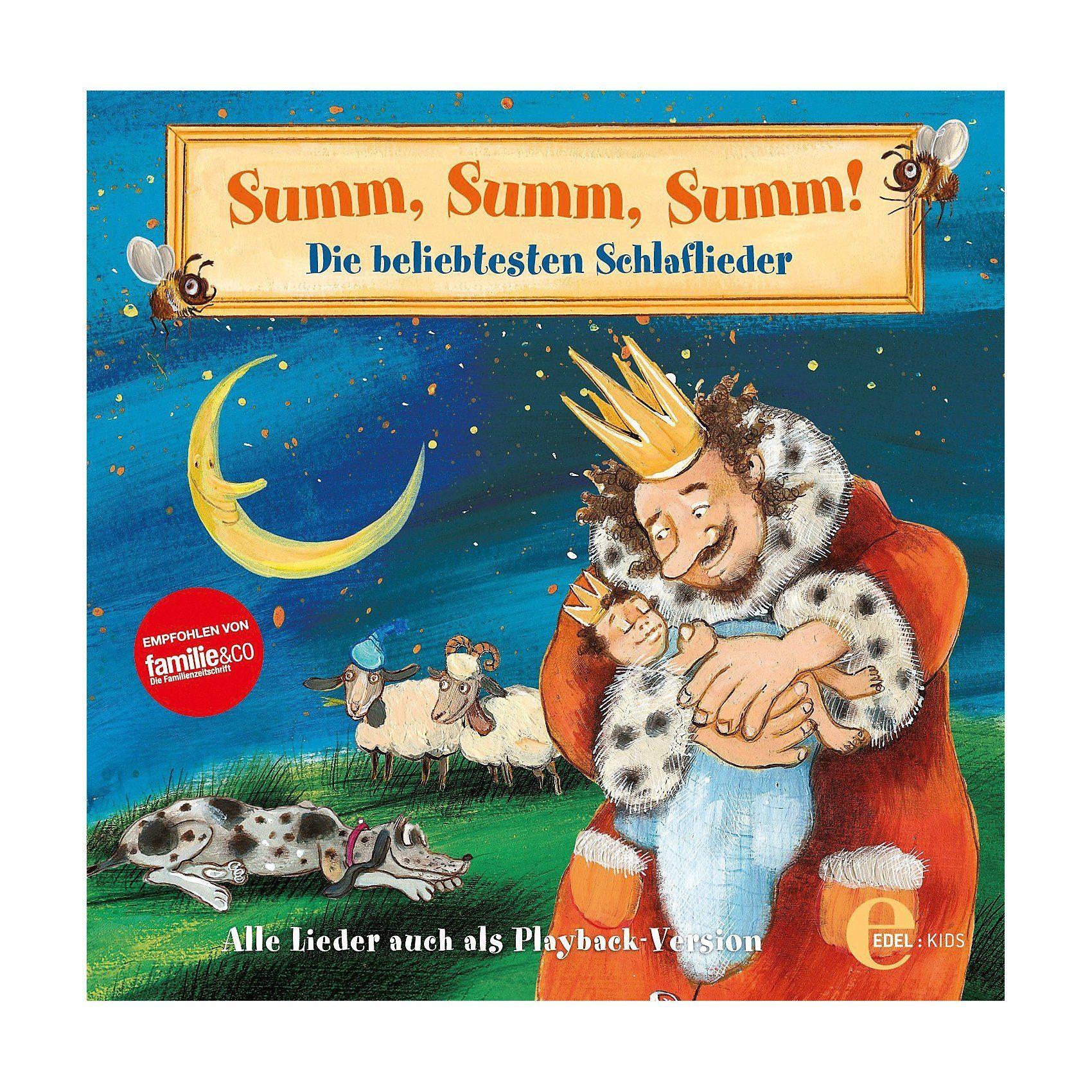 Edel CD Summ,Summ,Summ - Die beliebtesten Schlaflieder