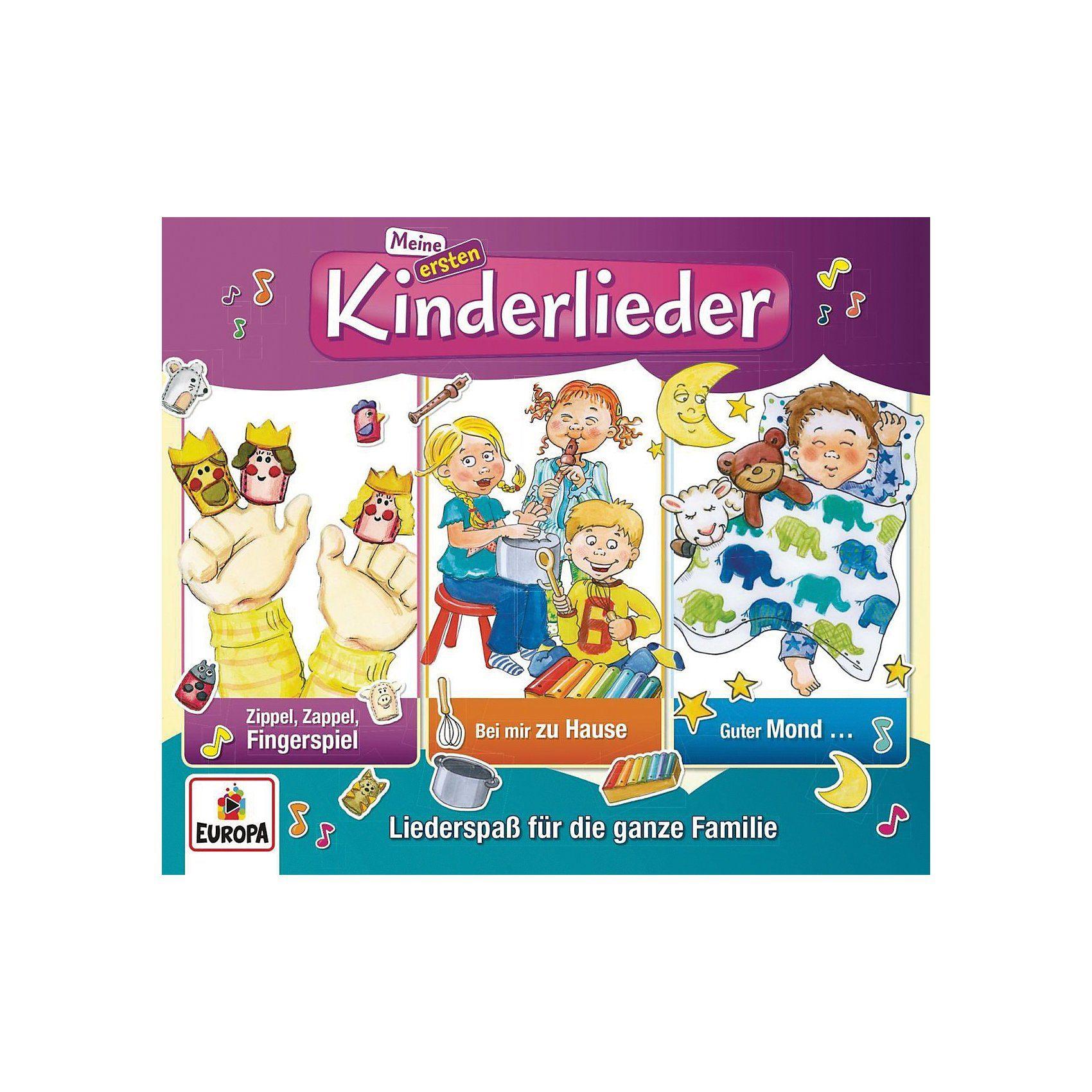 Sony CD Kinderliederbande - Meine ersten Kinderlieder 2 (3er Box)