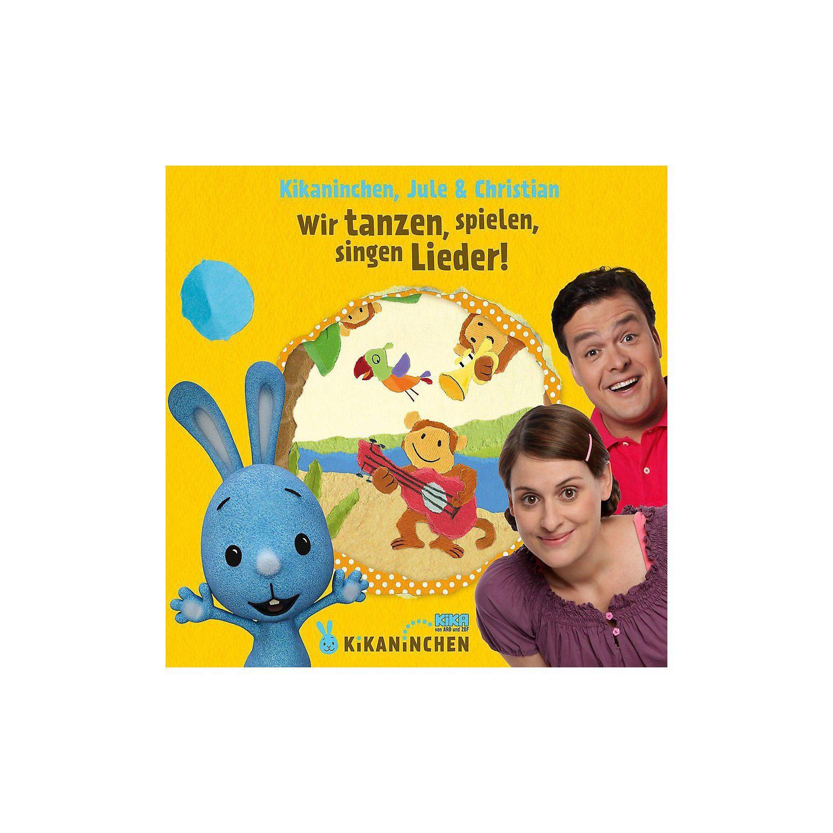 Universal CD Kikaninchen, Jule & Christian 02 - Wir Tanzen,Spielen,Sin