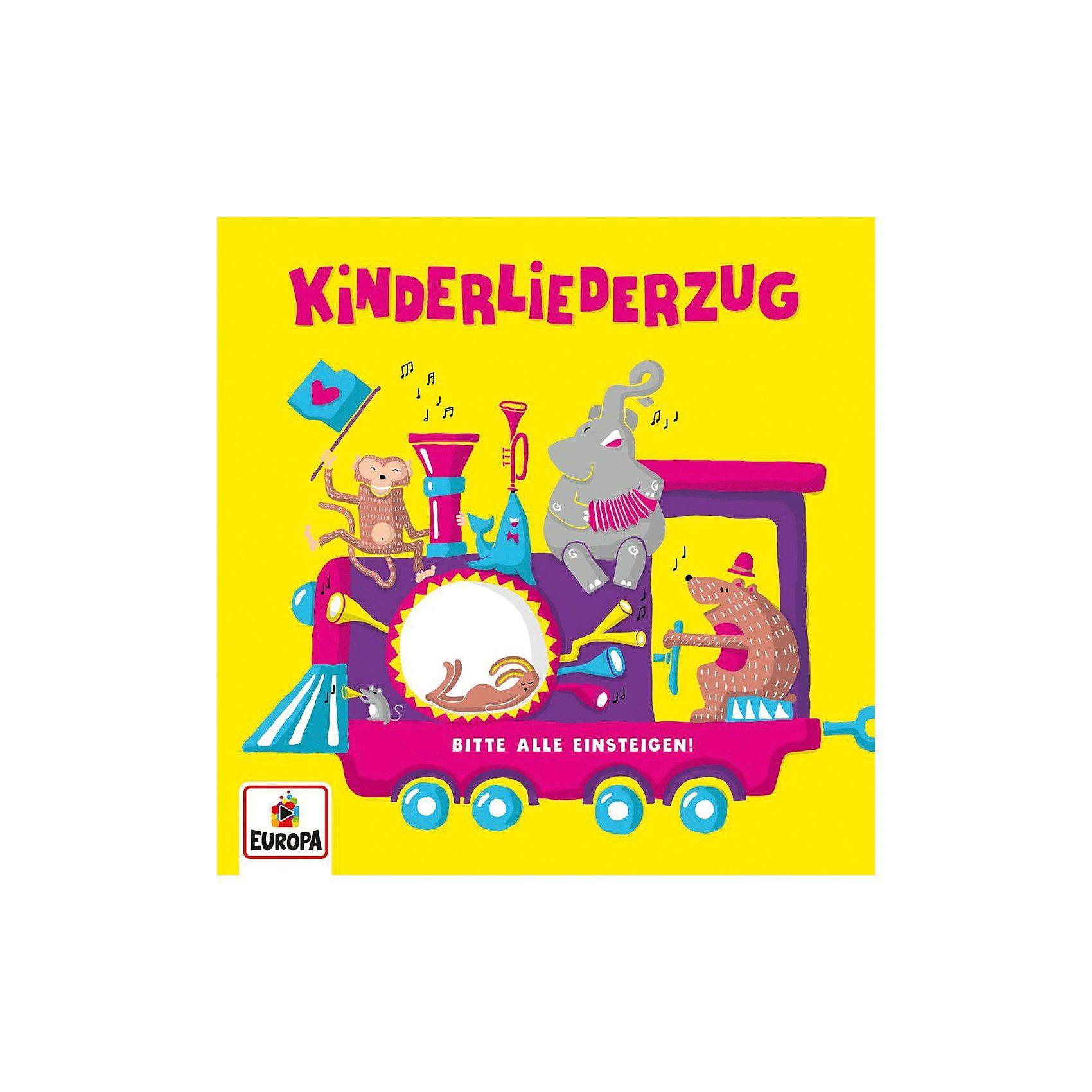 Sony CD Kinderliederzug - Bitte Alle Einsteigen!