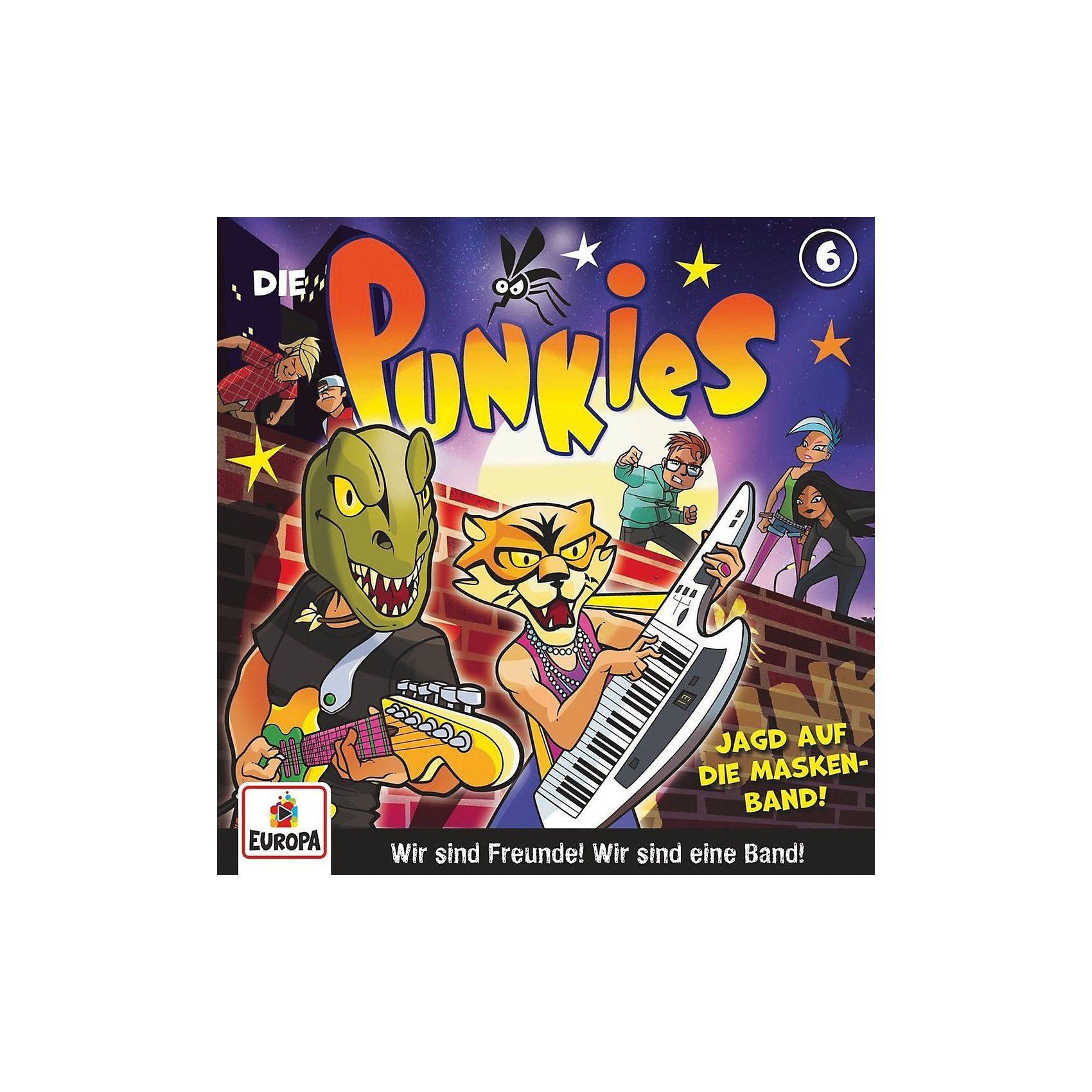Sony CD Die Punkies 06 - Die Jagd nach der Masken-Band