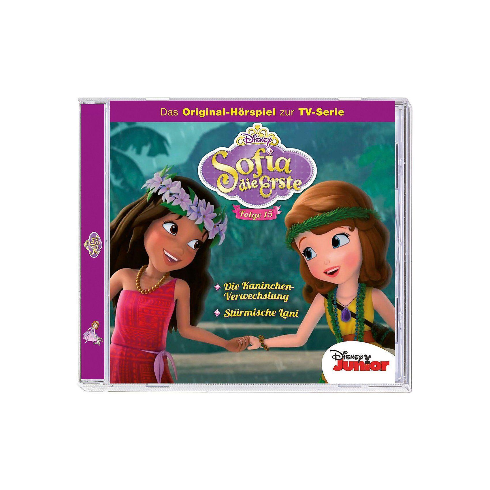 Kiddinx CD Disney Sofia die Erste 15 - Die Kaninchen-Verwechslung/St