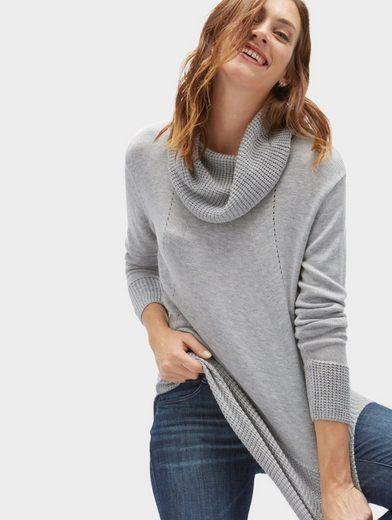 Tom Tailor Strickpullover Pullover im Strick-Mix