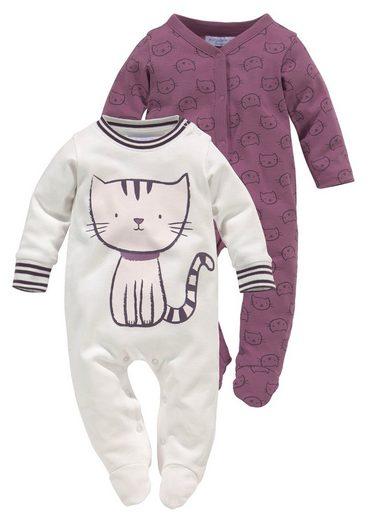 Klitzeklein Schlafanzug »Meow Magic« aus Biobaumwolle