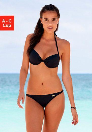 LASCANA Push-Up-Bikini-Top »Italy«, mit Raffung