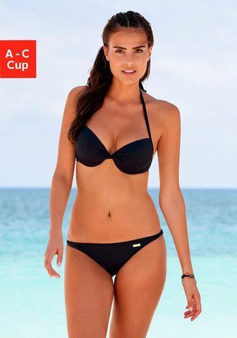 LASCANA Push-Up-Bikini-Top »Italy« su Raffung