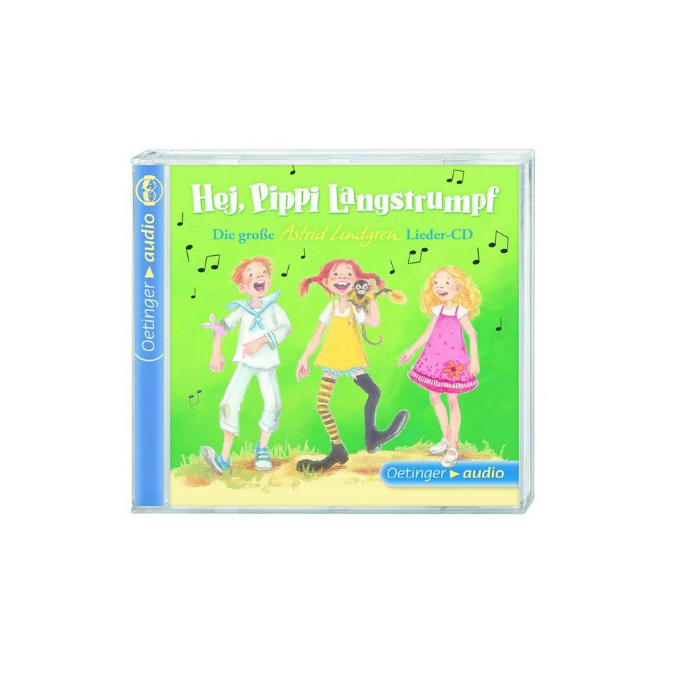 CD Die große Astrid-Lindgren-Lieder-CD - Hej, Pippi Langstru online kaufen