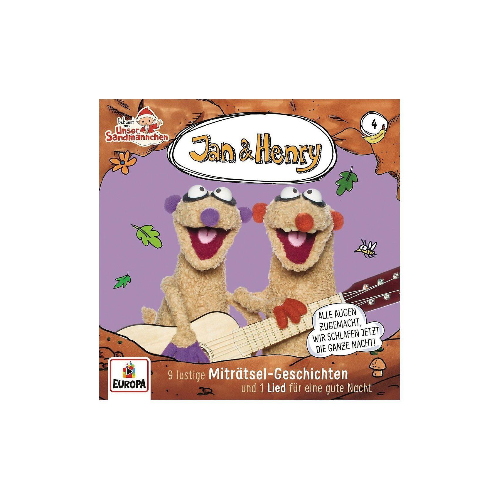 Sony CD Jan & Henry 04 - 9 Rätsel und 1 Lied