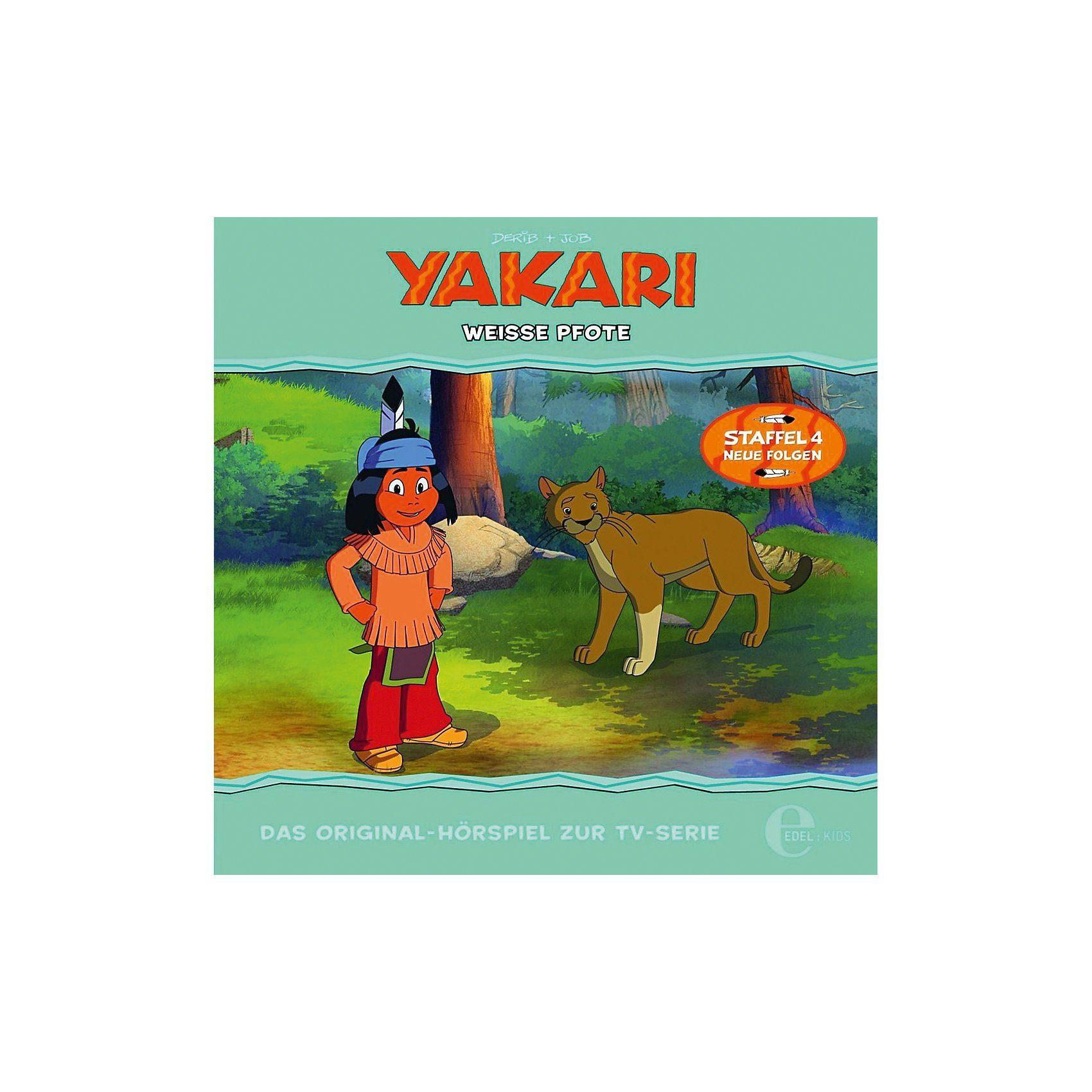 Edel CD Yakari 31 - Weiße Pfote