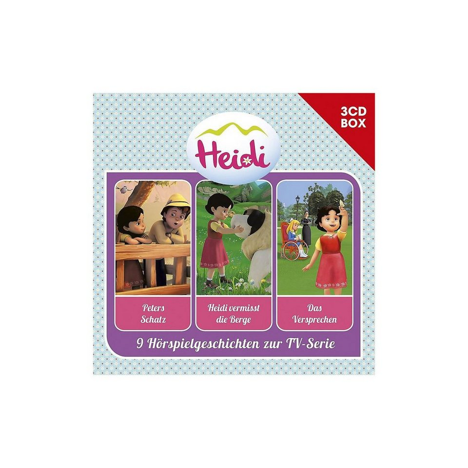 Universal CD Heidi - Hörspielbox Vol.2 (3 CDs)