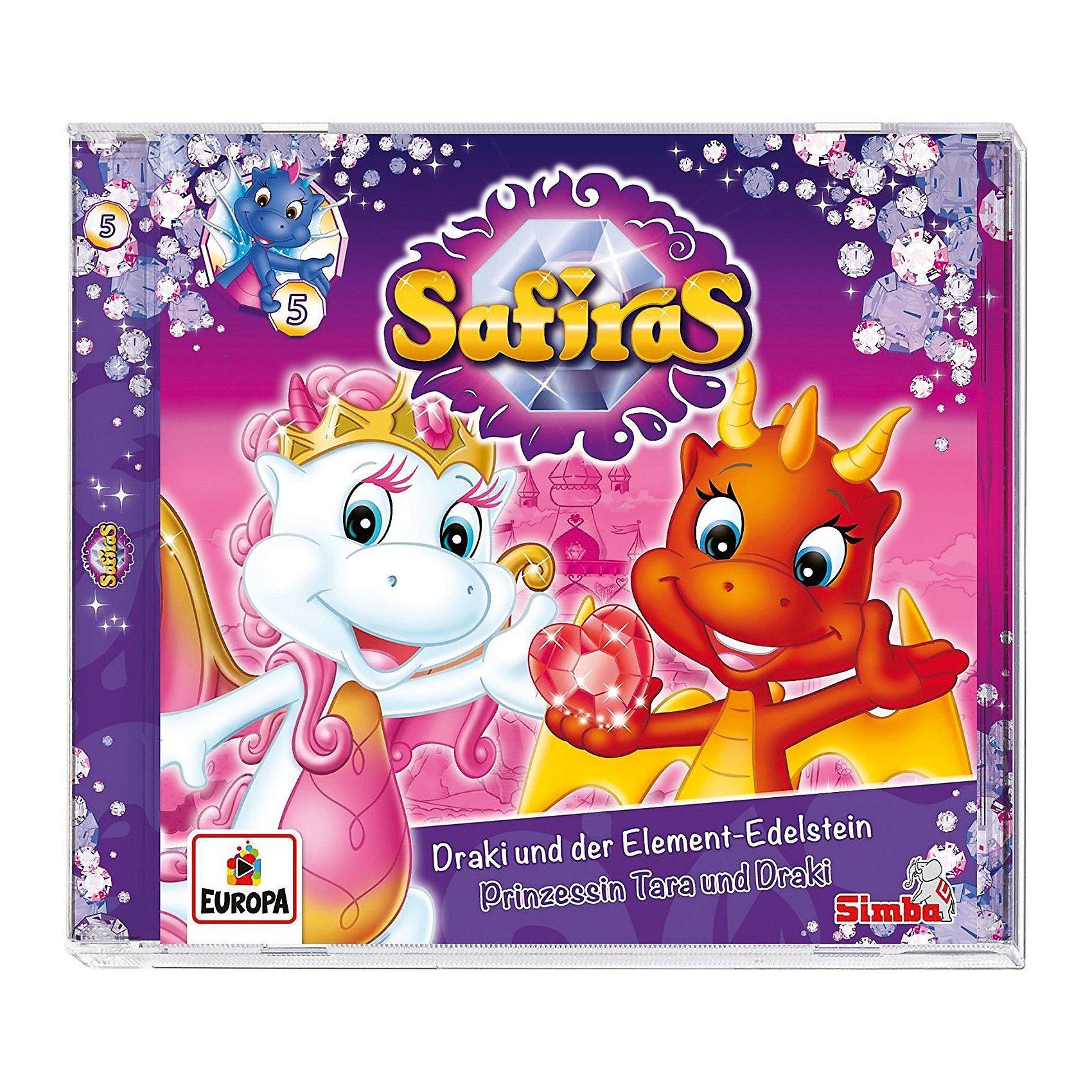 CD Safiras 5 - Draki und der Element-Edelstein/Prinzessin Ta
