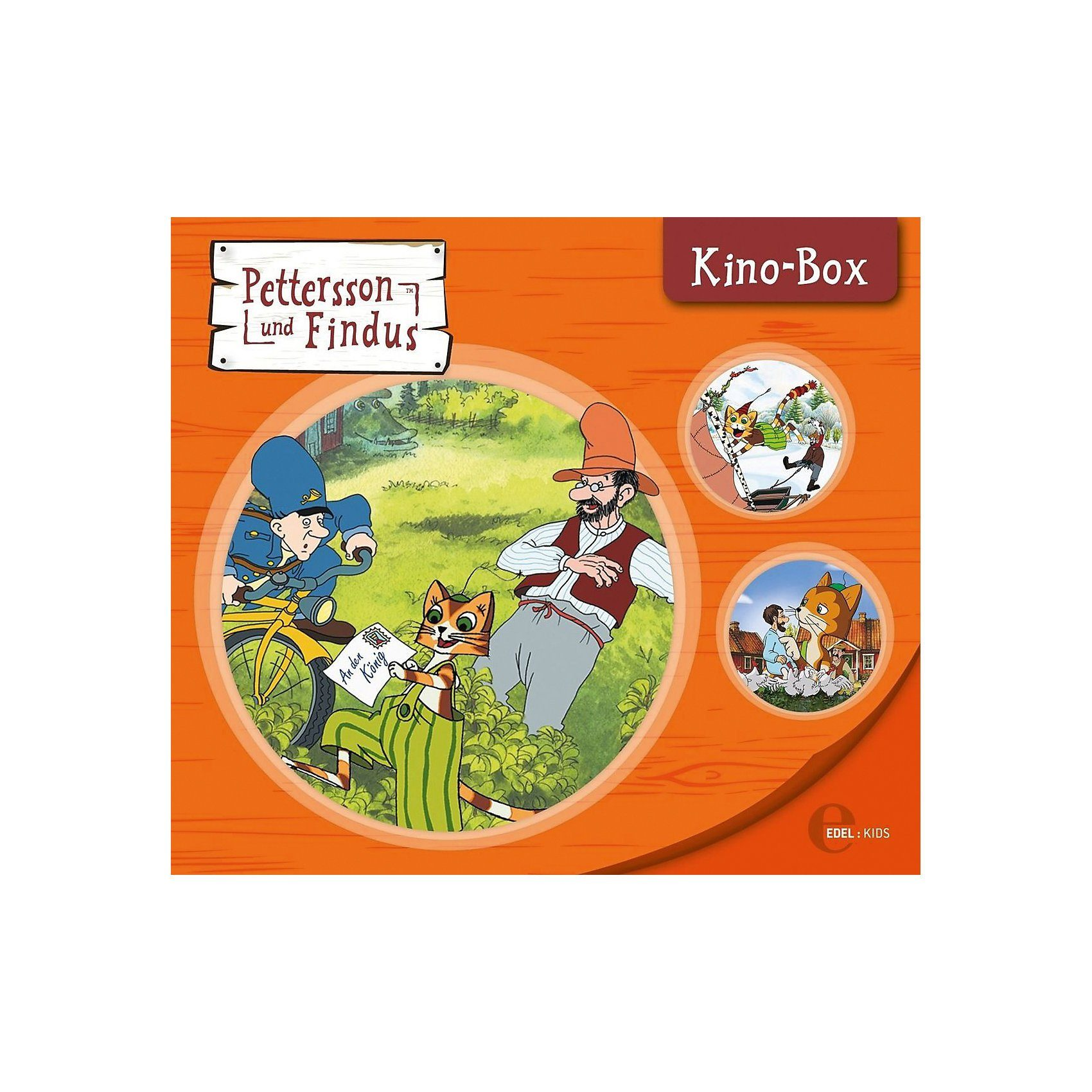 Edel CD Pettersson & Findus - Kinobox (3 CDs)