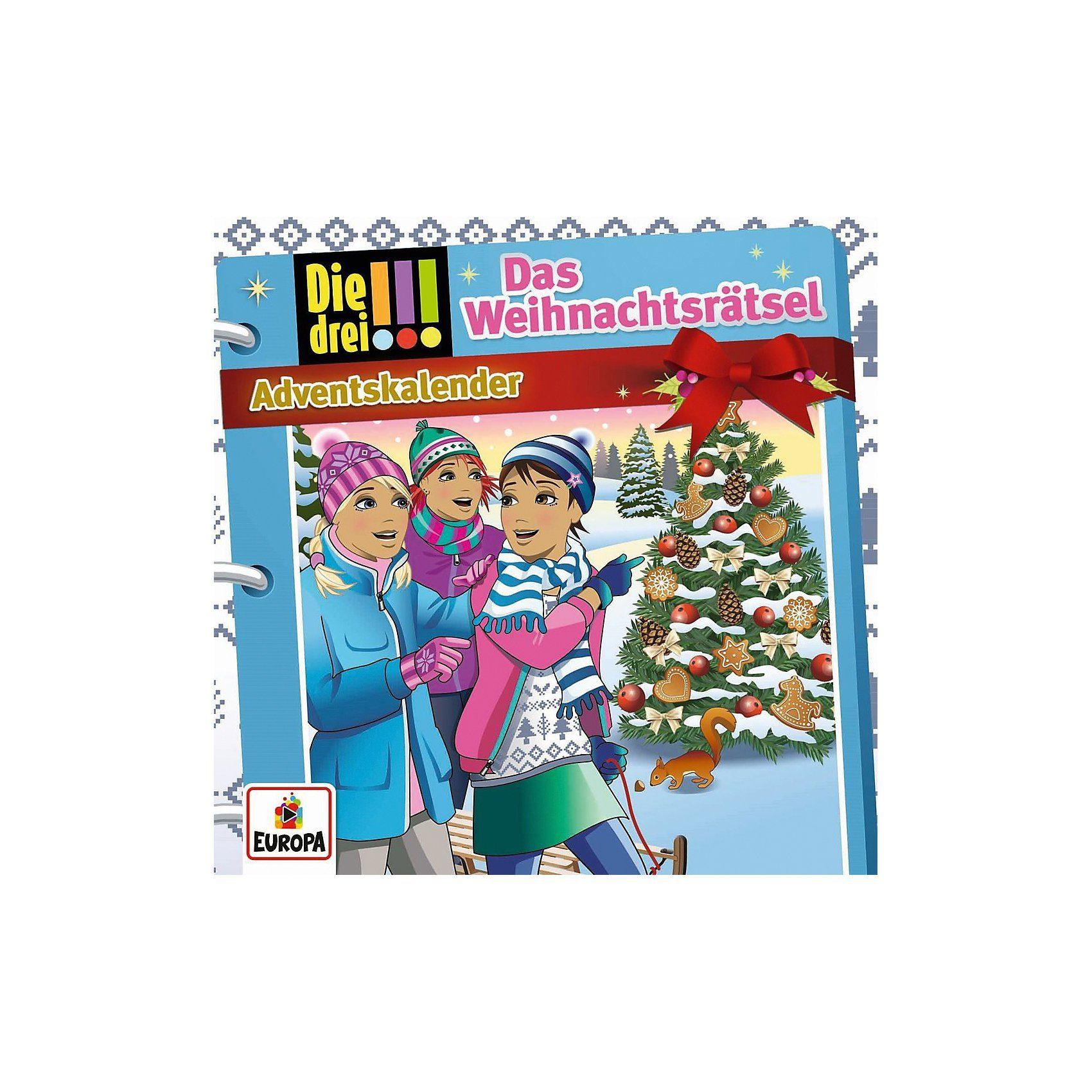 Sony CD Die drei !!!-Adventskalender - Das Weihnachtsrätsel