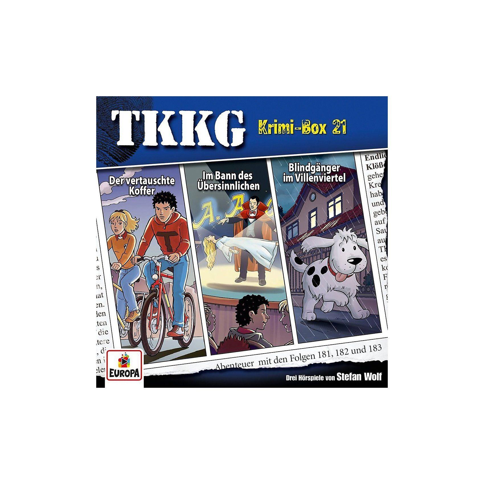 Sony CD Tkkg Krimi-Box 21 (Folgen 181,182,183) (3 CDs)