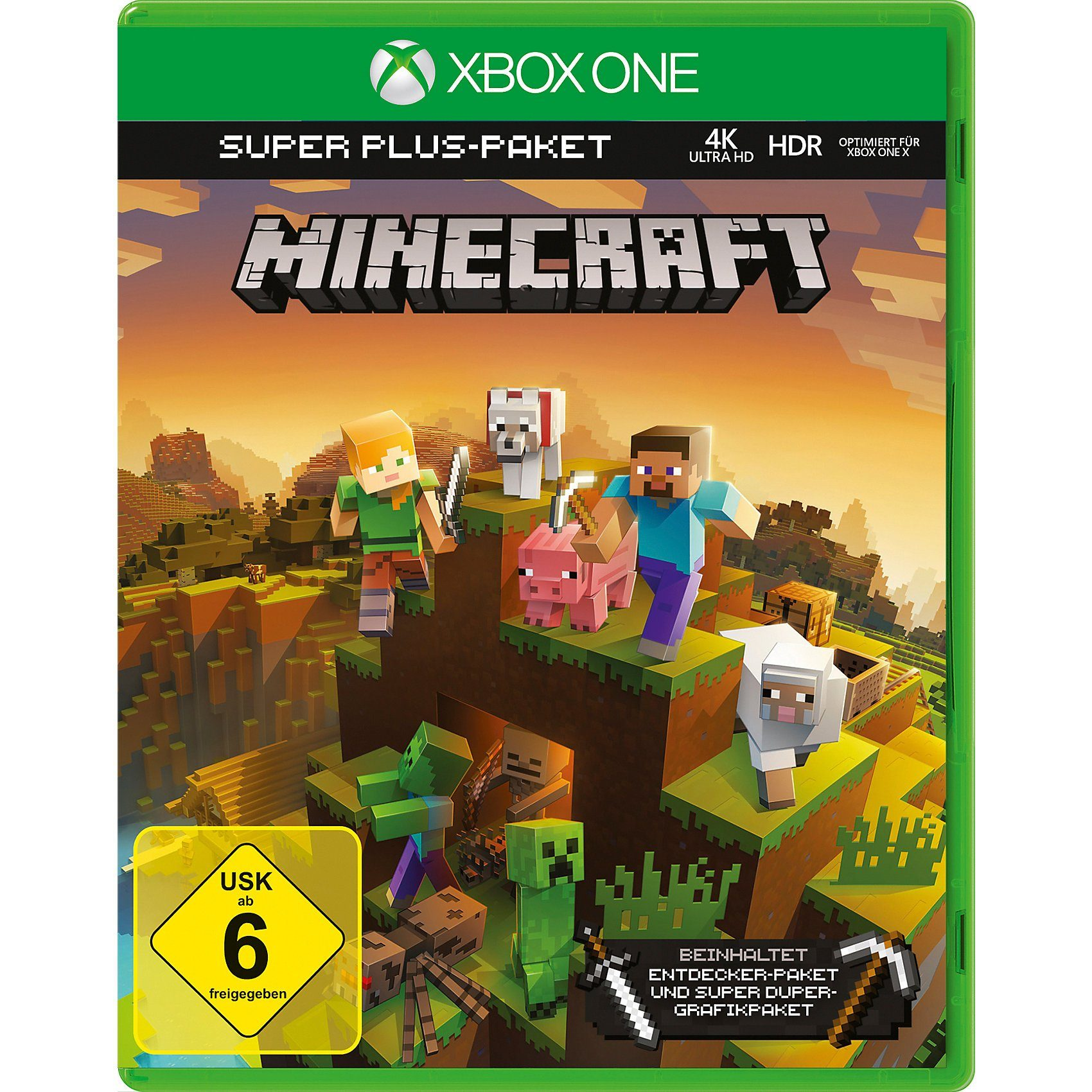 ak tronic XBOX ONE Minecraft Super Graphics Pack