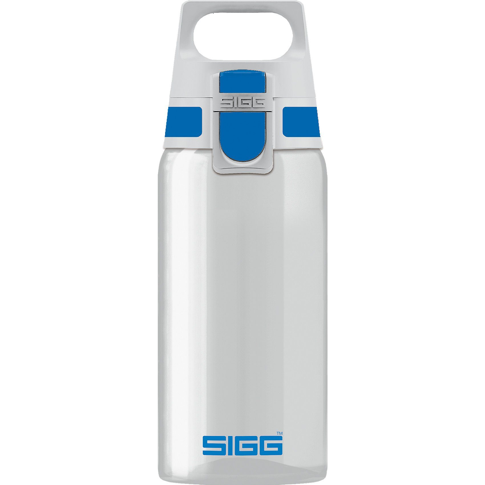 Sigg Tritan-Trinkflasche TOTAL CLEAR ONE Blue, 500 ml