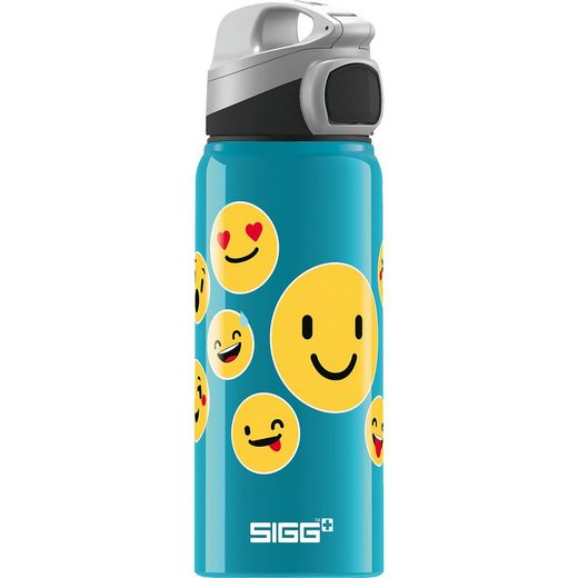 Sigg Alu-Trinkflasche MIRACLE Emoticon, 600 ml