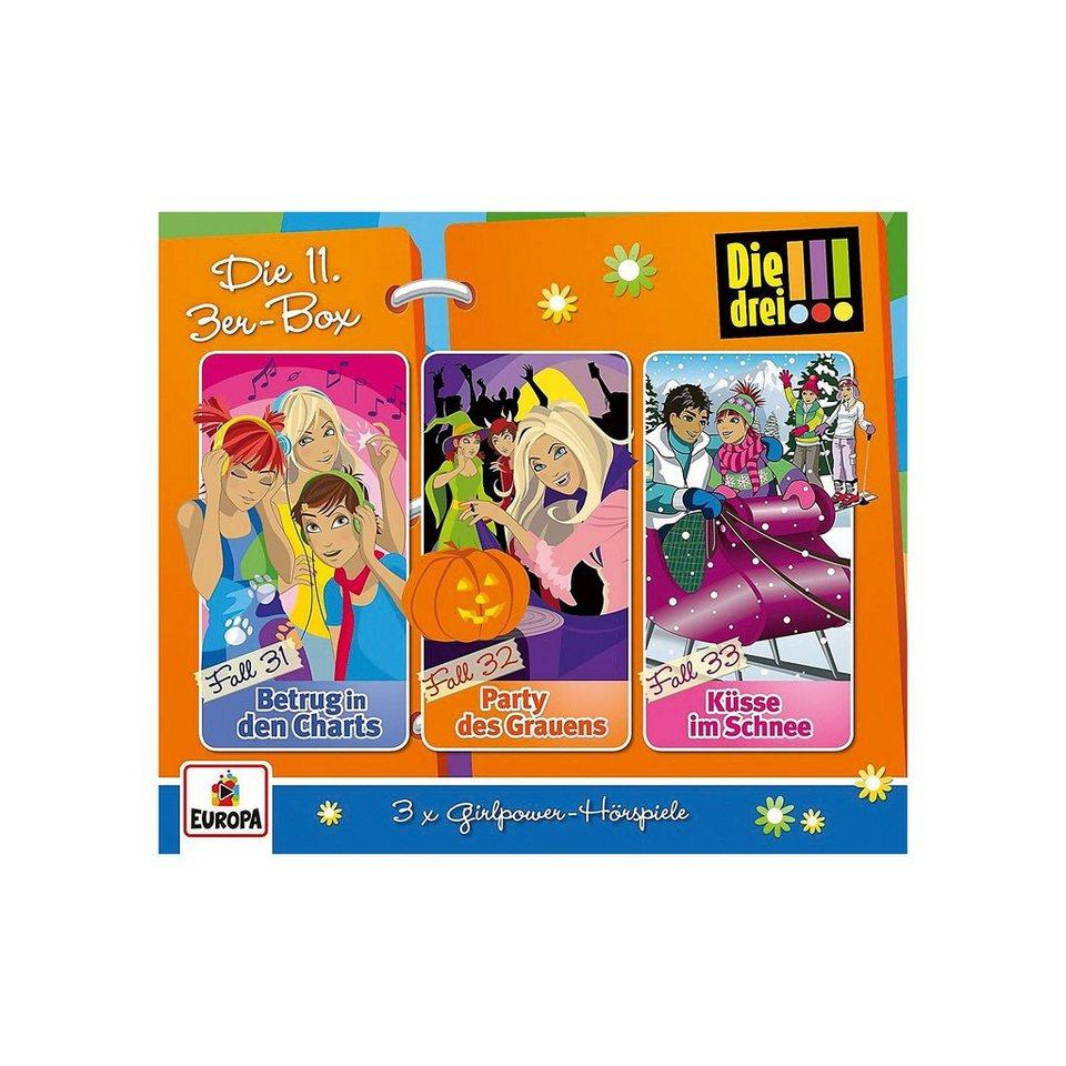 Sony CD Die drei !!! 11/3er-Box (Folgen 31-33) (3 CDs) online kaufen