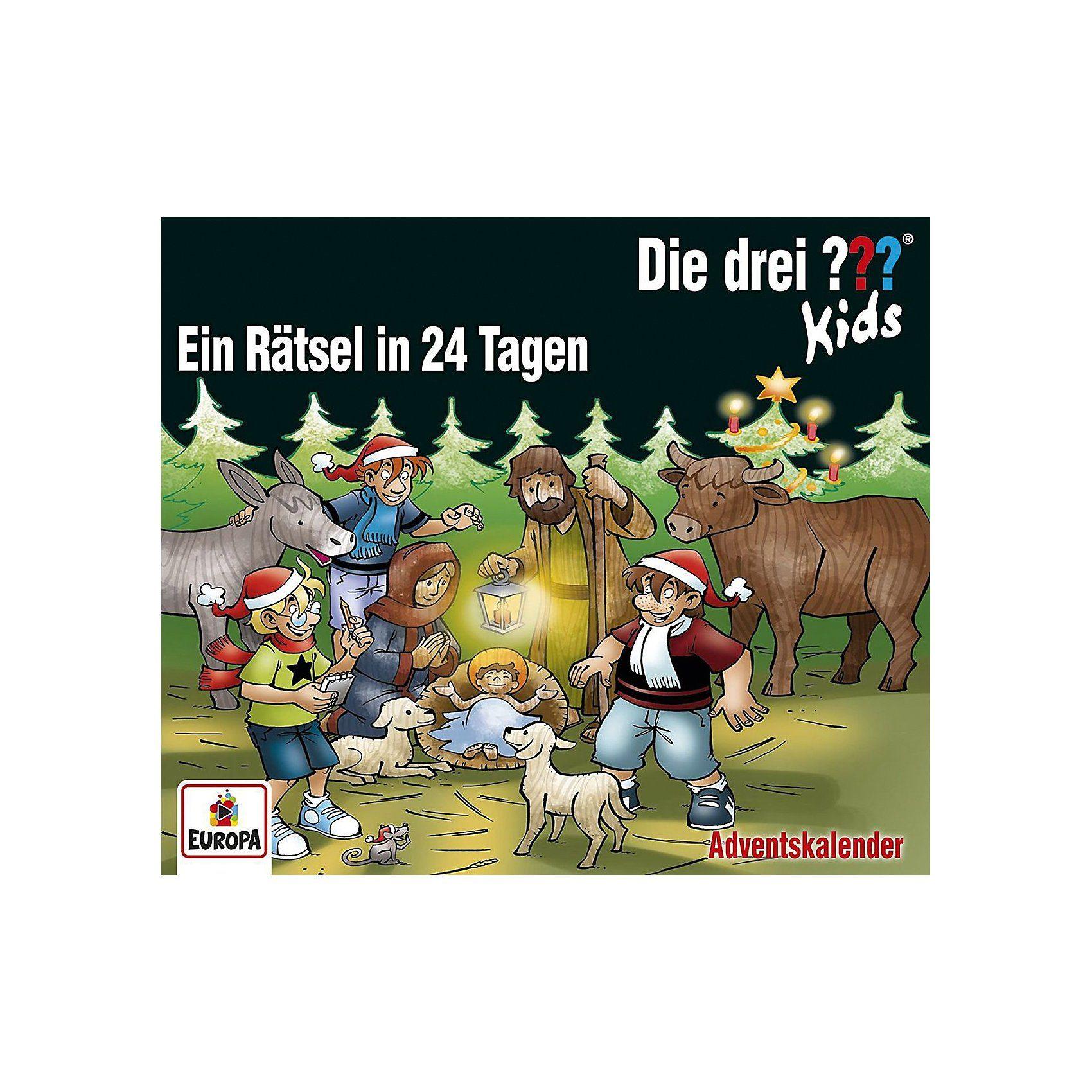 Sony CD Die drei ??? Kids Adventskalender - Ein Rätsel in 24 Tage