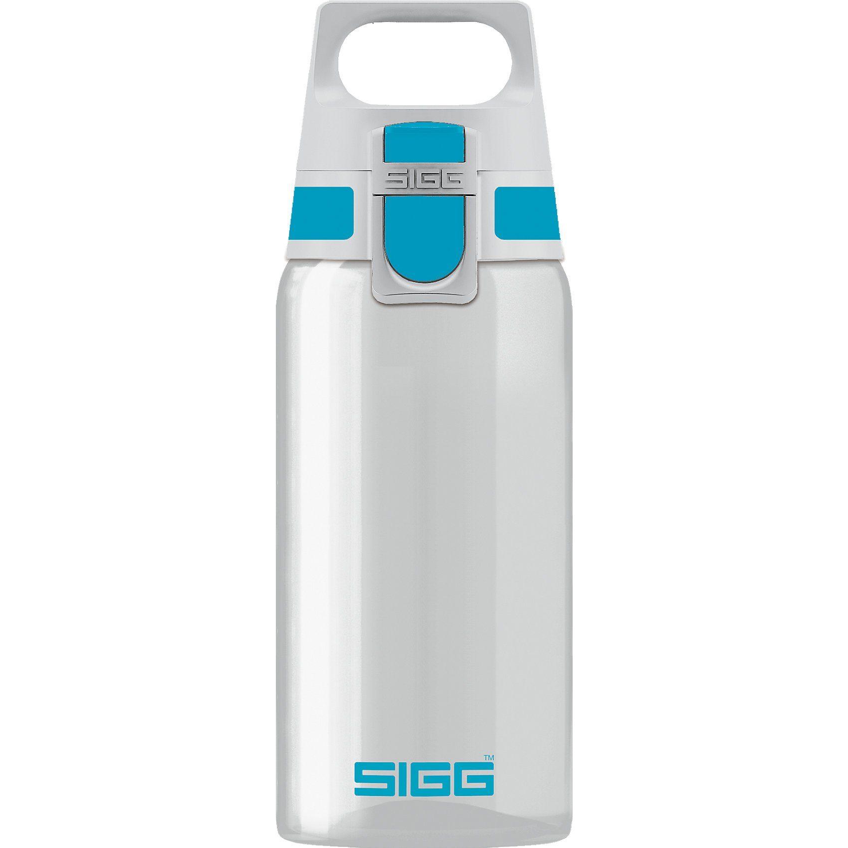 Sigg Tritan-Trinkflasche TOTAL CLEAR ONE Aqua, 500 ml