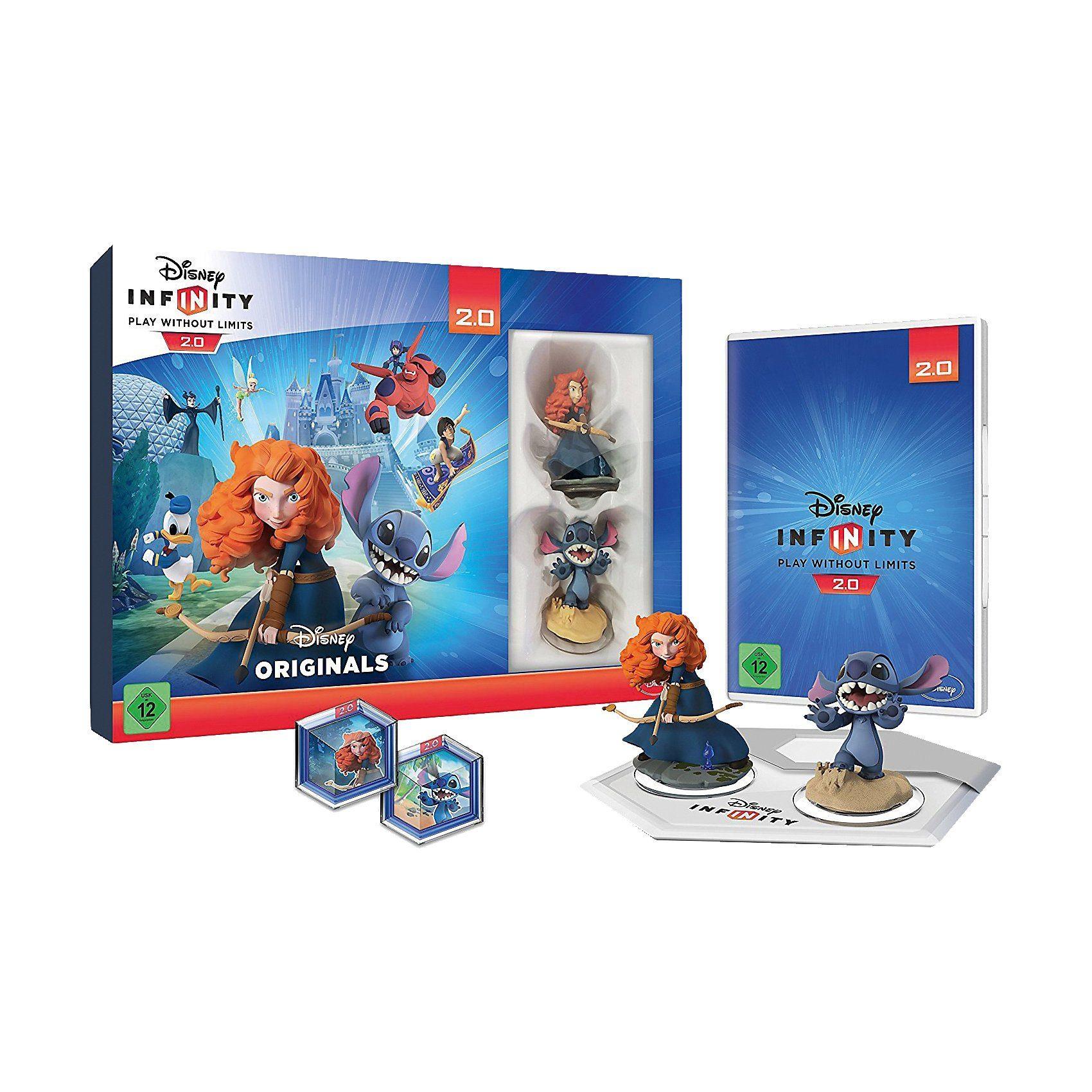 ak tronic PS4 Disney Infinity 2 ToyBox Combo-Set