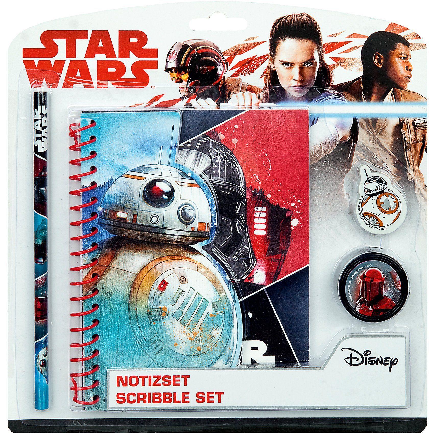 UNDERCOVER Notizset Star Wars, 4-tlg.