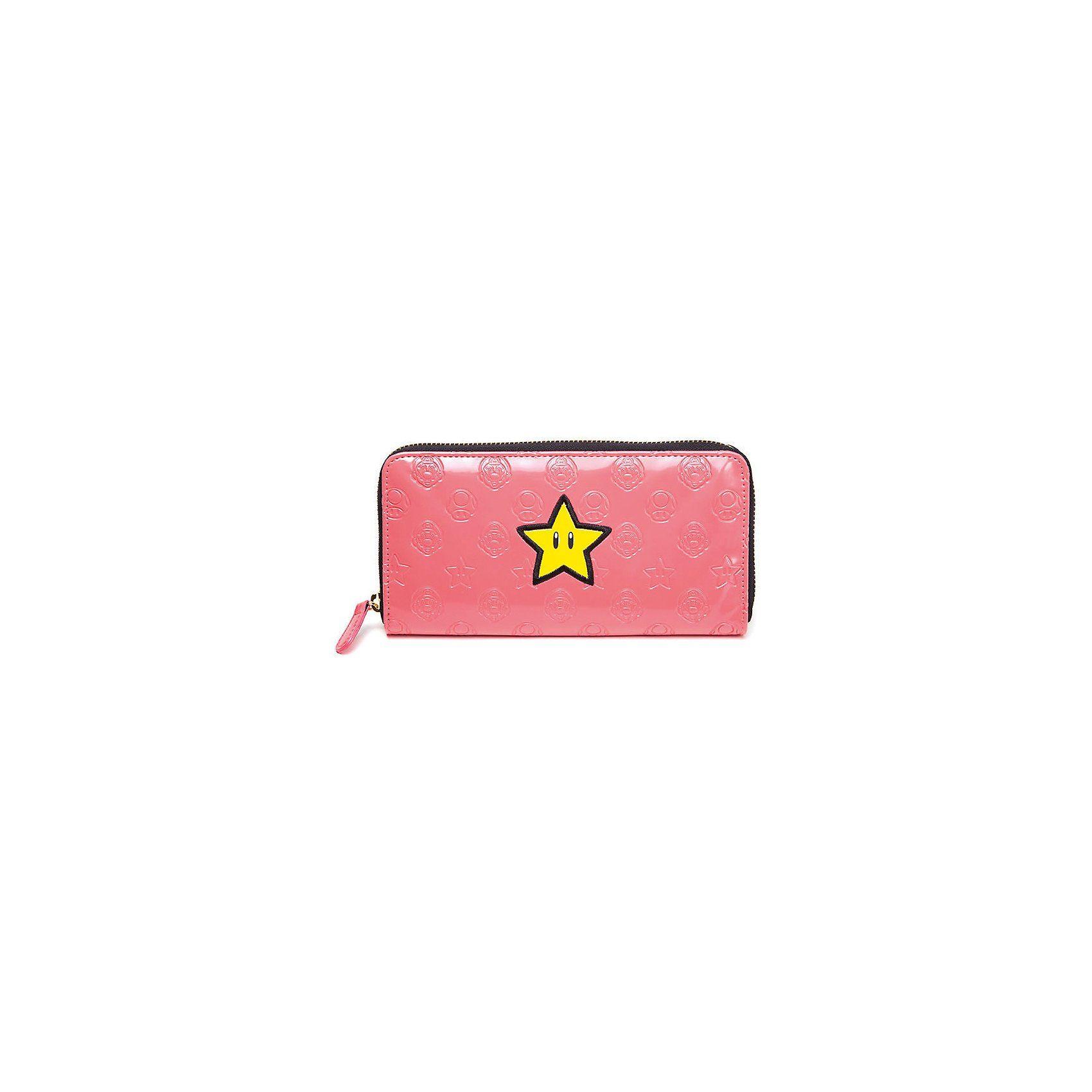 Nintendo Zipper Geldbörse Star