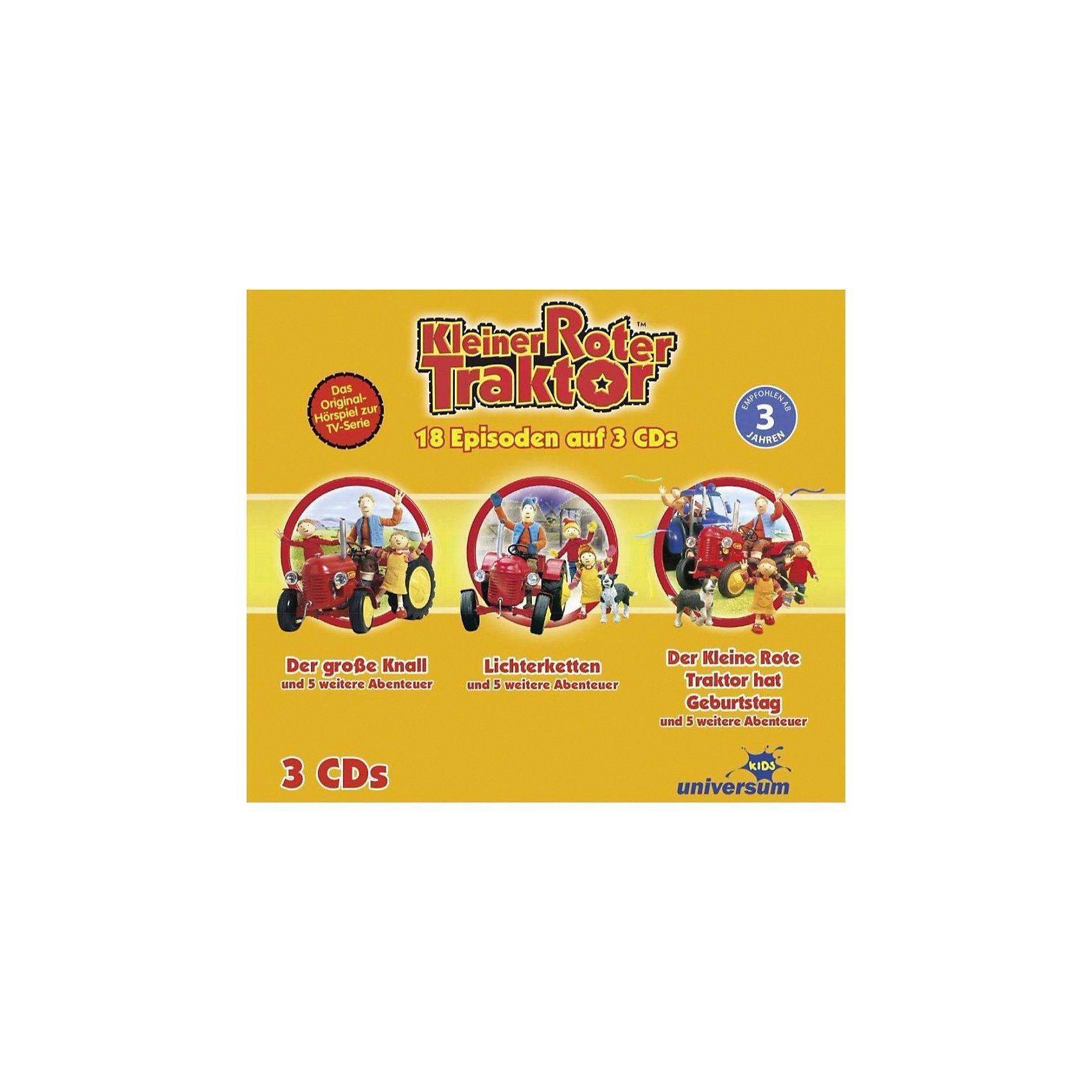 Universum CD Kleiner Roter Traktor - Hörspielbox 1 (CD 1-3)
